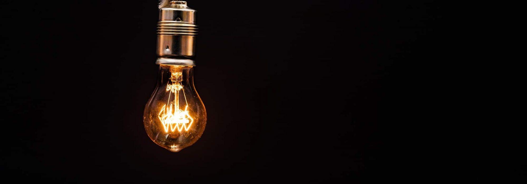 ampoule à filaments; rénovation et création de réseaux électriques